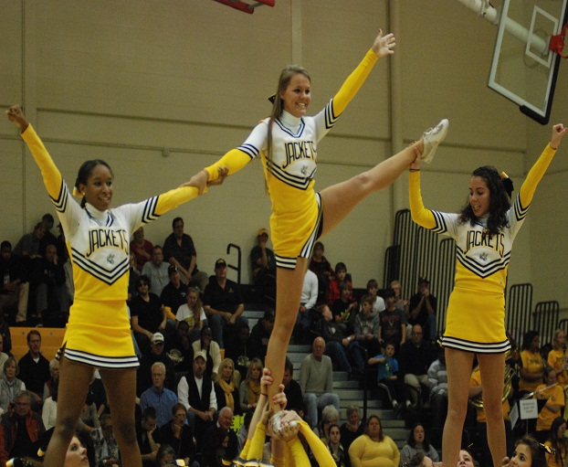 See Your Yellow Jackets Cheerleaders and Dancers In Action - Randolph-Macon
