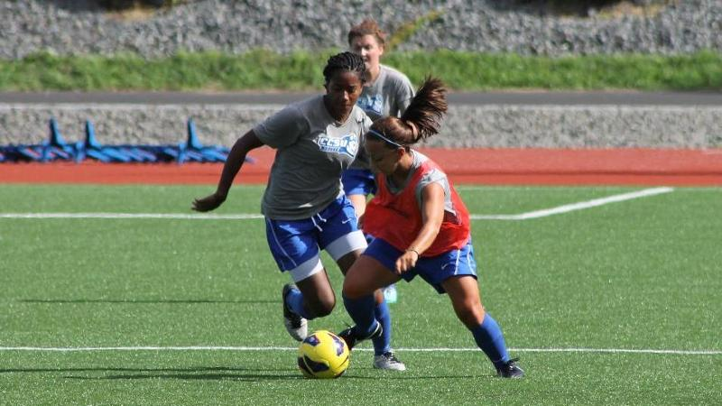 Women's Soccer Gets Ready for 2013