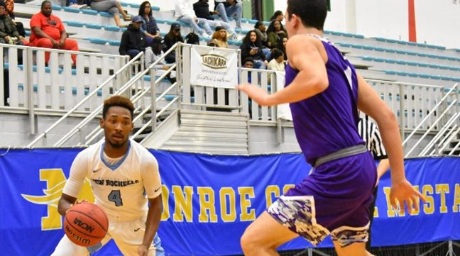 Men's Basketball: New Rochelle 75, Albany Pharmacy 64