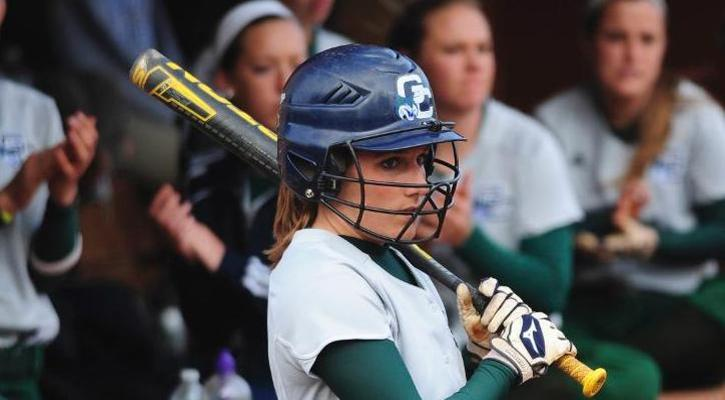 GC Softball Gets Split With Patriots as Okvist Moves to No. 8