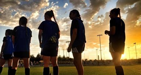 Fresno City, Santa Barbara City, Folsom Lake and Santiago Canyon square off at American River for CCCAA Women's Soccer Championship