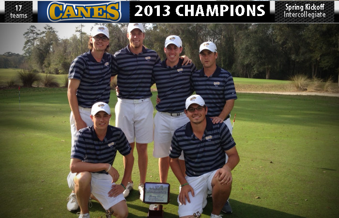 GSW Wins 17-Team Spring Kickoff Intercollegiate By 13 Strokes