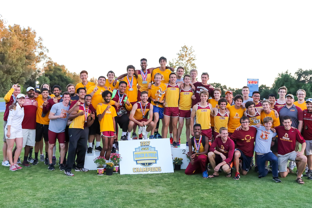 CMS Wins 2017 SCIAC Men's Track and Field Championship