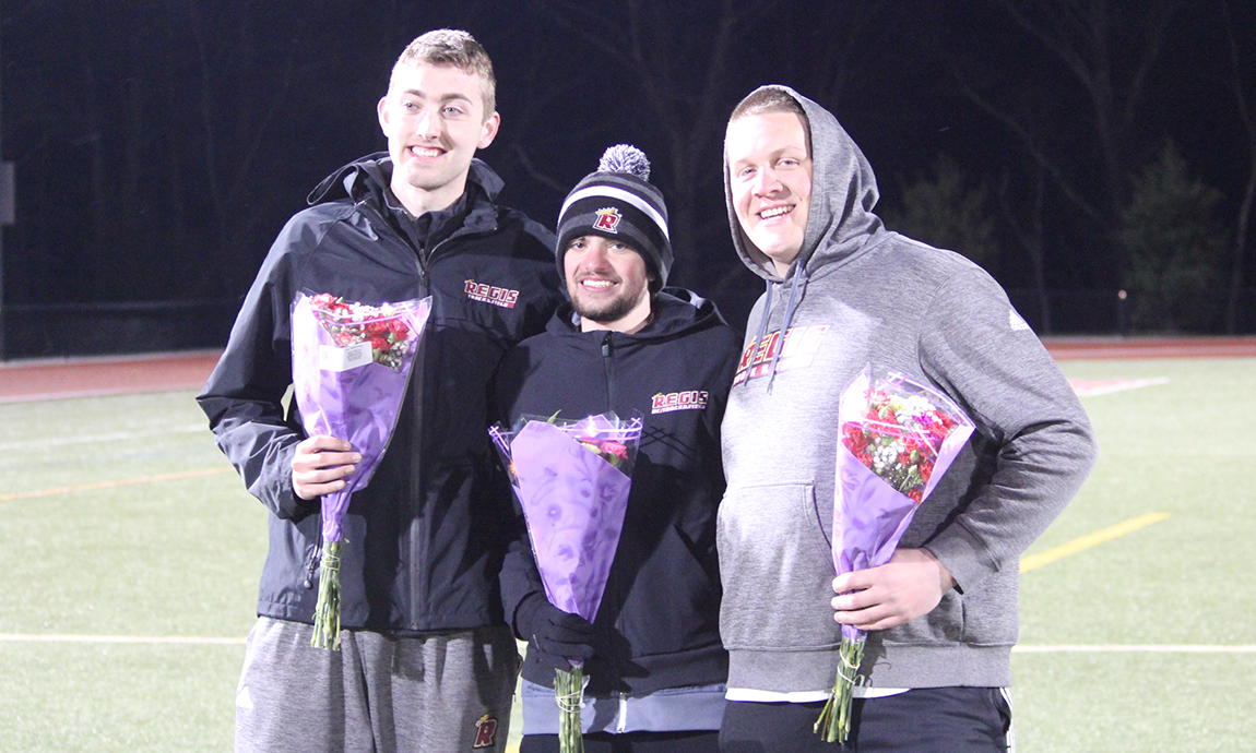Men's Track and Field Excels at Regis Spring Classic