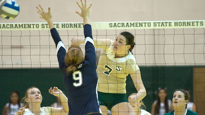 VOLLEYBALL PICKS UP HUGE WIN, CRUSHES WEBER STATE