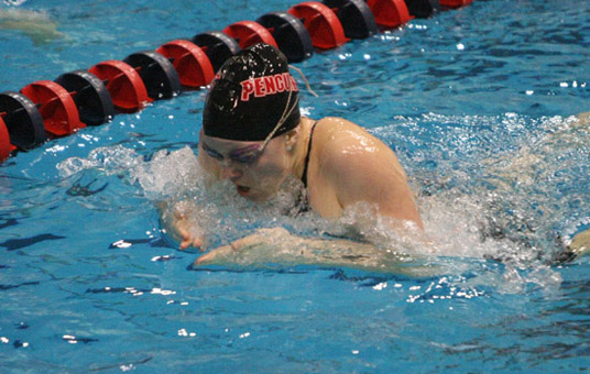 Penguins Win Seven Events In Strong Showing at Marshall