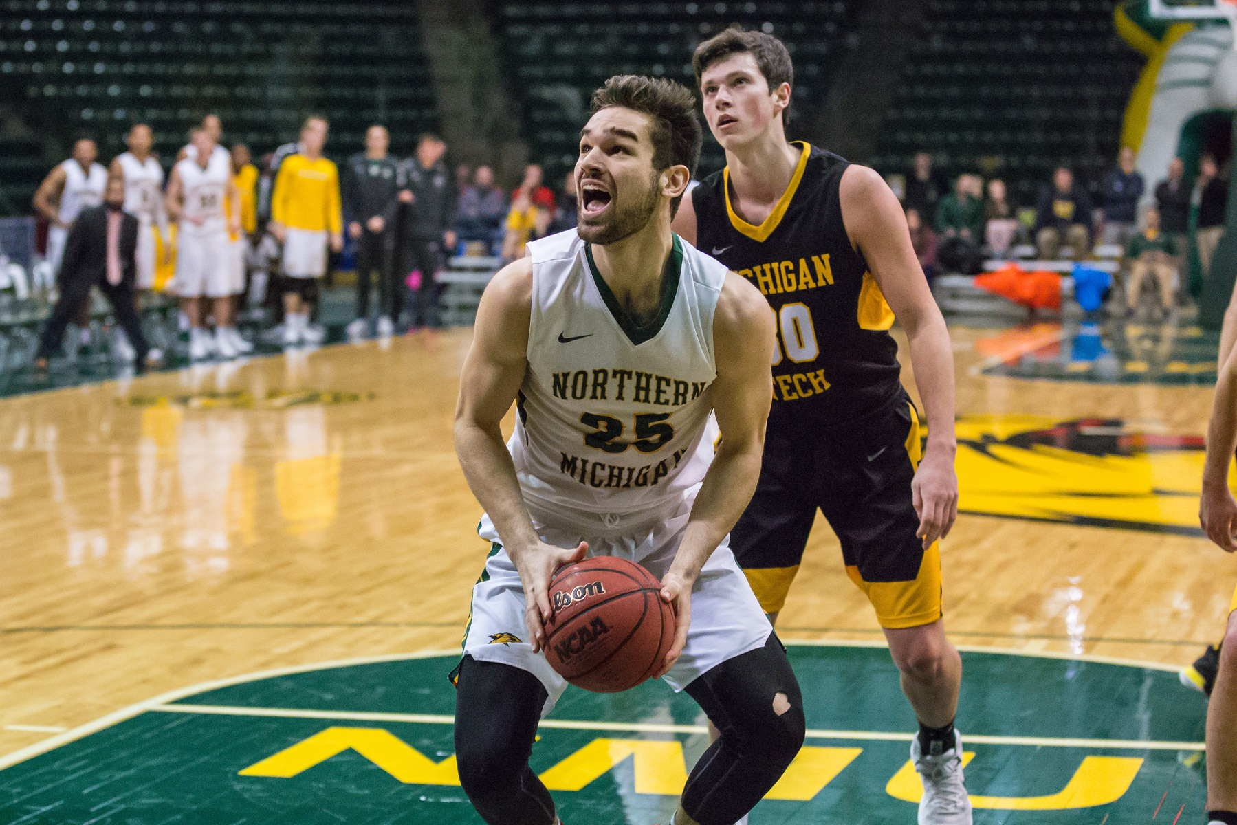 NMU Falls to UMD in Final Game of 2017