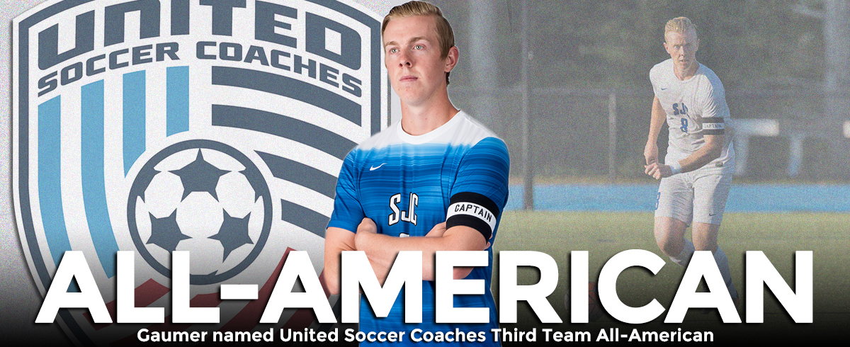 Gaumer Selected as United Soccer Coaches Third Team All-American