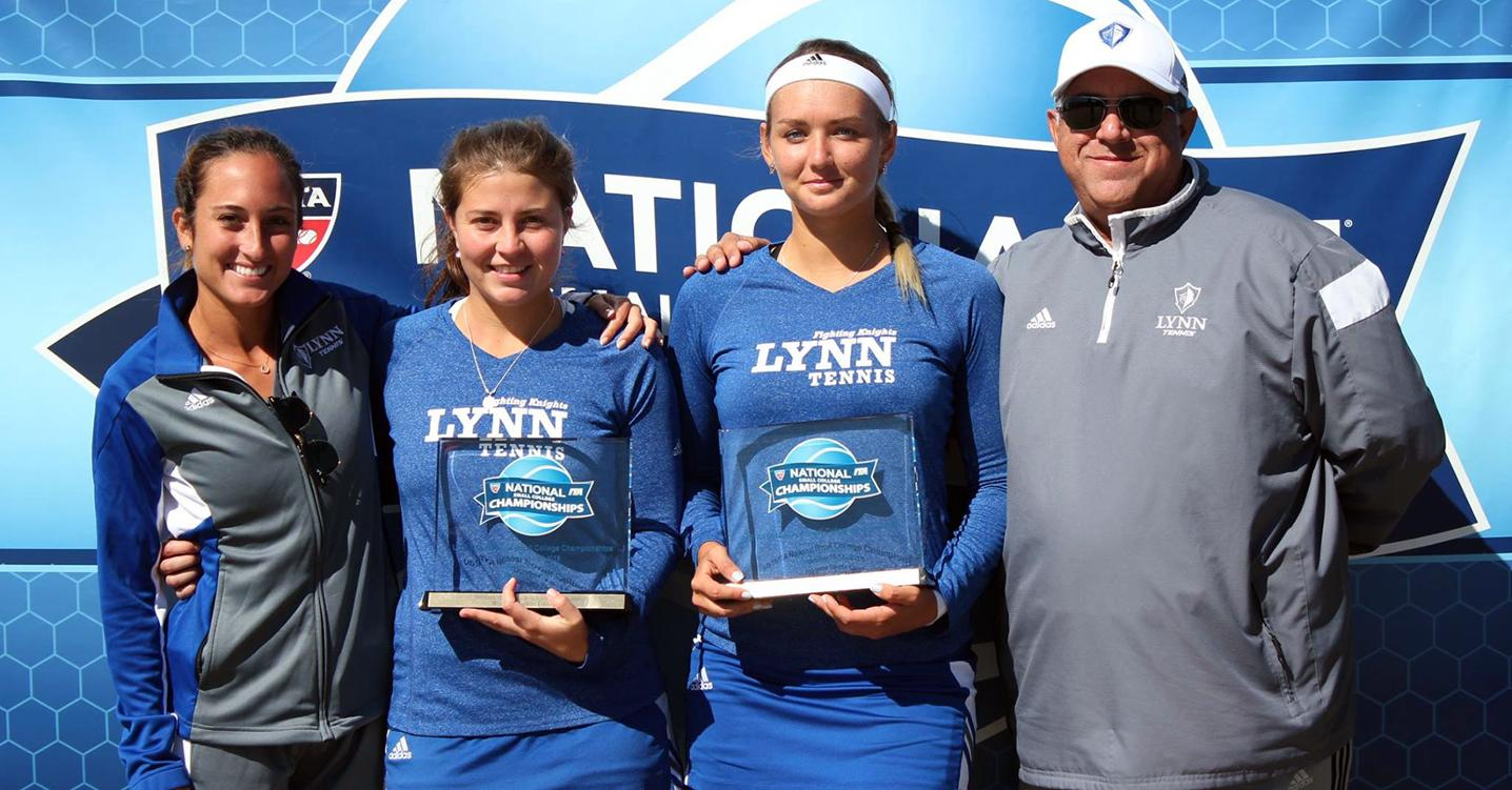 Super Bowl Champs! Willig and Bogolii Bring Home First Doubles Title in Program History