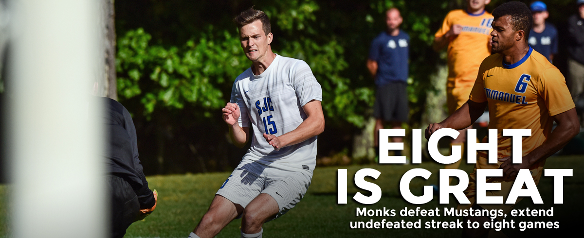 Monks Extend Undefeated Streak to Eight Games