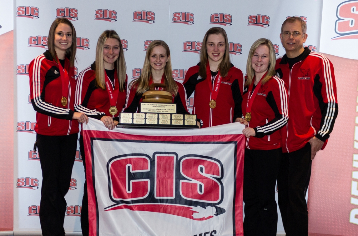 FINAL 2014 CIS / CCA Curling Championships, presented by Travelers: Carleton Ravens women, Manitoba Bisons men crowned curling champions