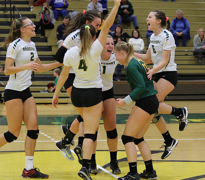 Brockport tops SUNYAC volleyball preseason poll