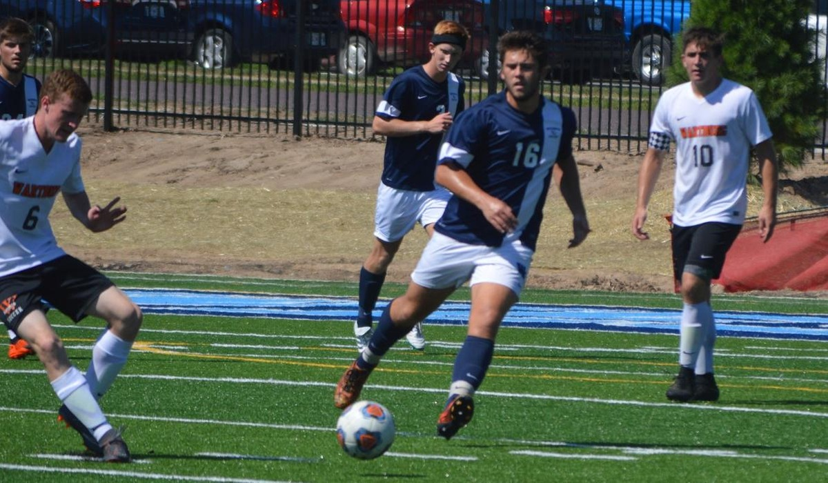 Westminster Men's Soccer Falls to Central in Nonconference Match