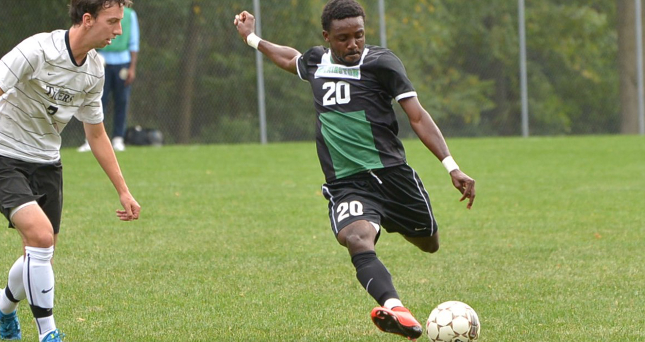 WilmU's Clifford Nwechefom Named CACC Men's Soccer Player of the Year to Highlight All-CACC Honorees