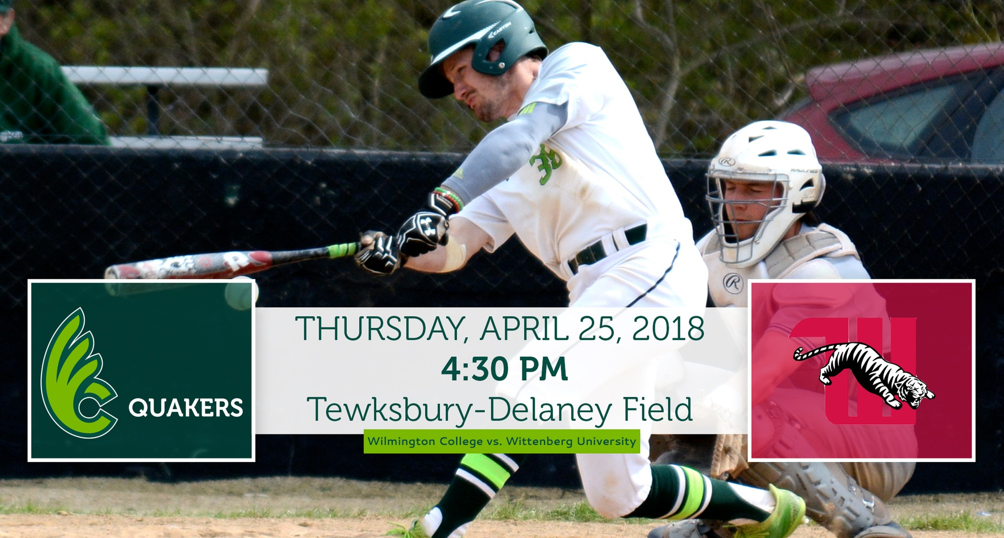 Baseball Hosts Wittenberg for Single Non-Conference Game Thursday