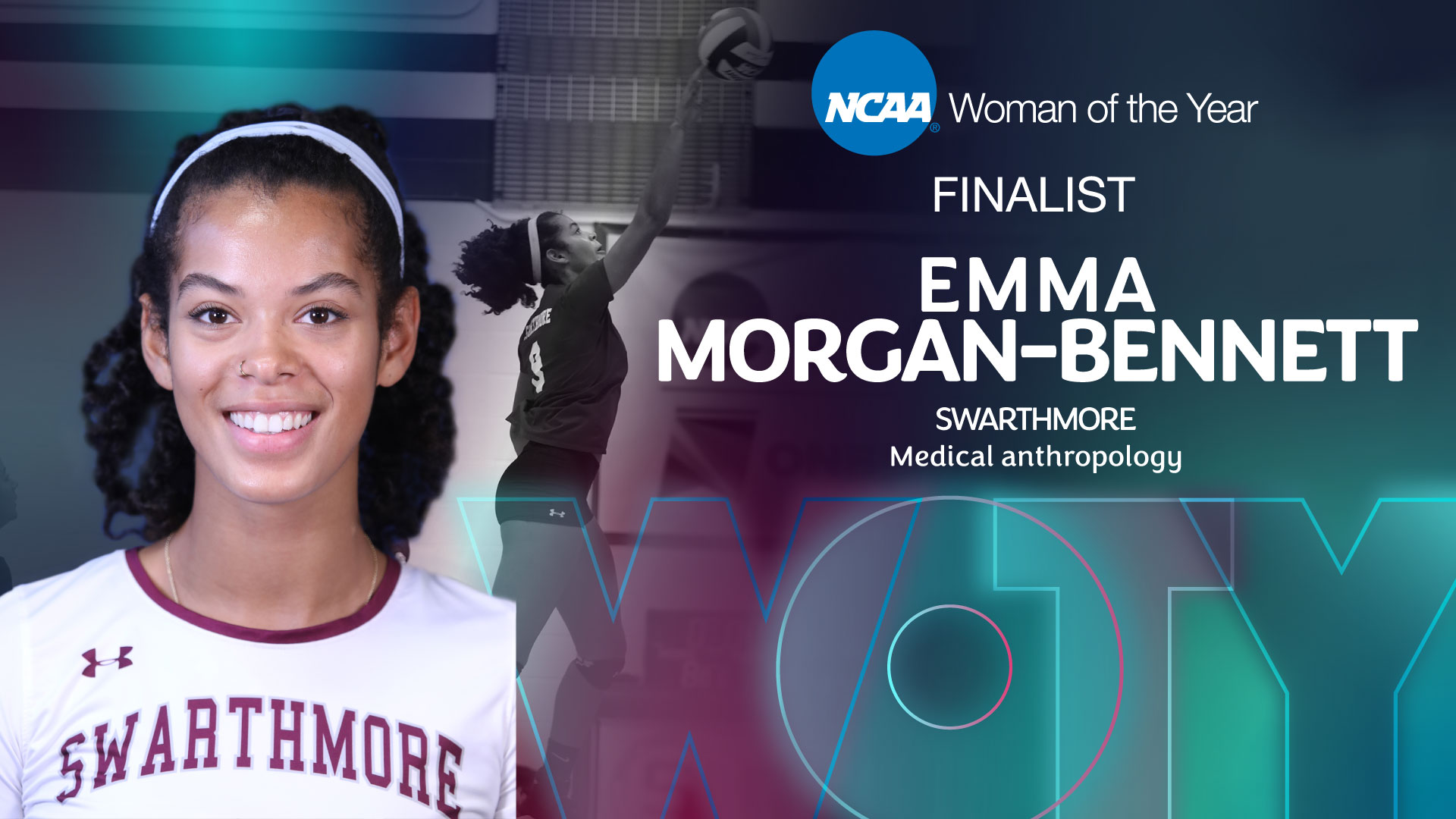 Emma Morgan-Bennett Named NCAA Woman of the Year Top 9 Finalist
