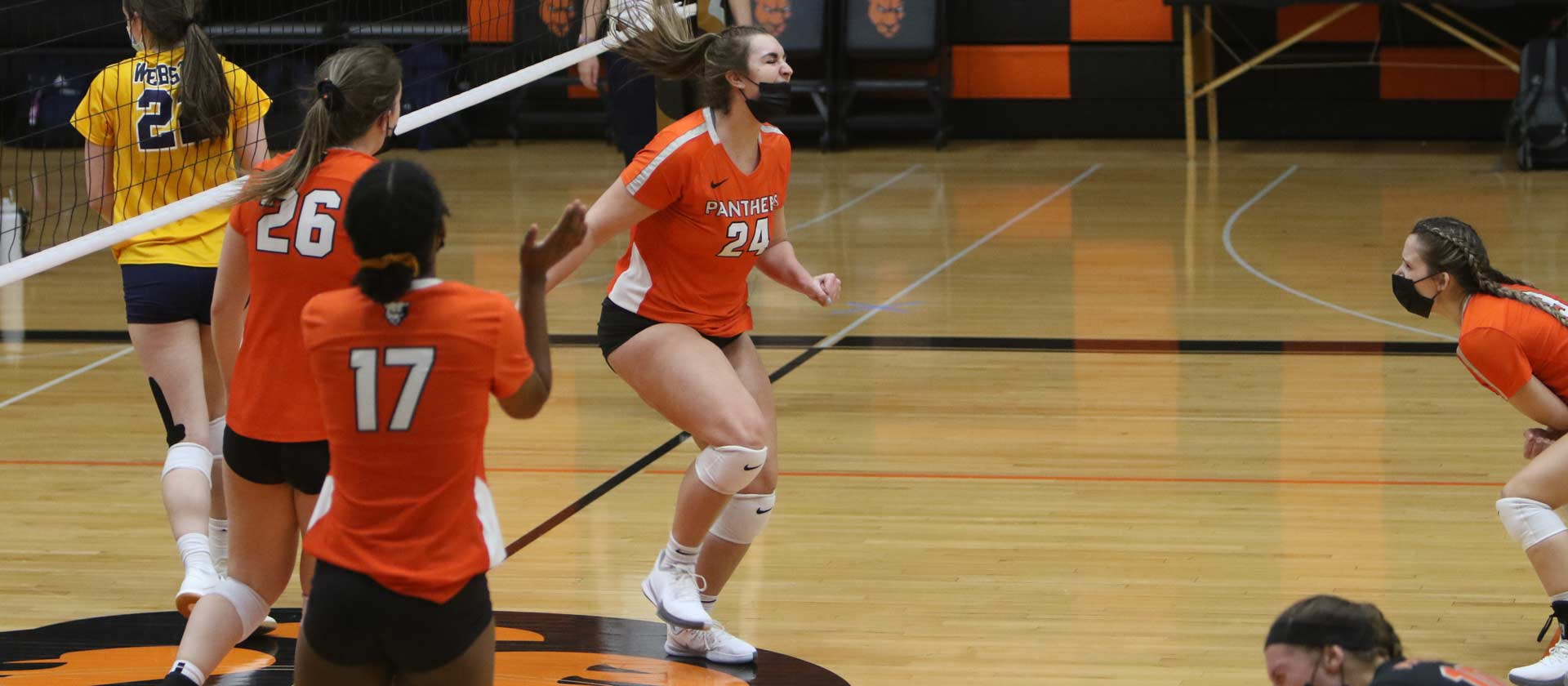 No. 16 women's volleyball downed by No. 15 Webster