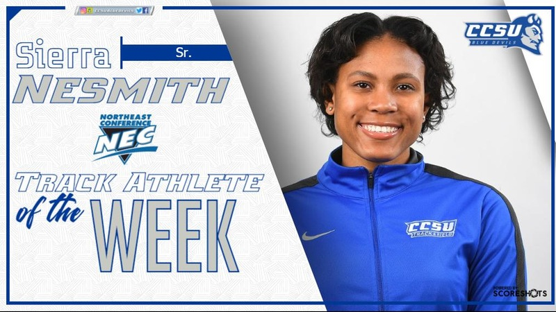 Nesmith Earns NEC Weekly Award