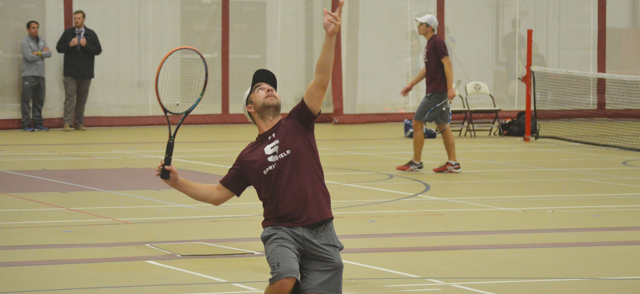 Men's Tennis Shuts Out Rhode Island College For Most-Consecutive Wins Since 1995