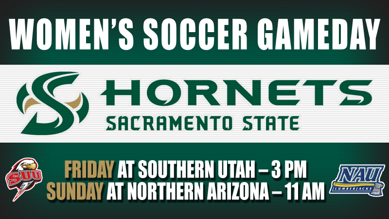 Women's soccer visits Southern Utah and Northern Arizona this weekend.