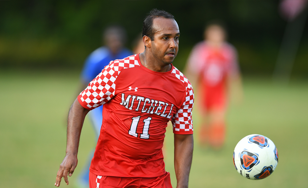 Men's Soccer Edged by Suffolk