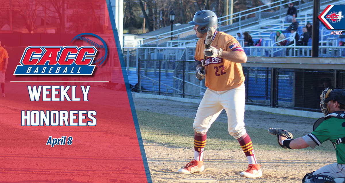 CACC Baseball Weekly Honorees (April 8)