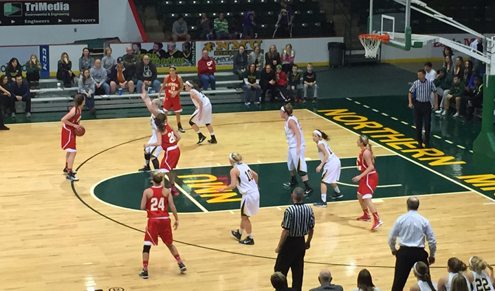 Quick Start Fuels NMU Past FSU In GLIAC Women's Play At Berry Events Center