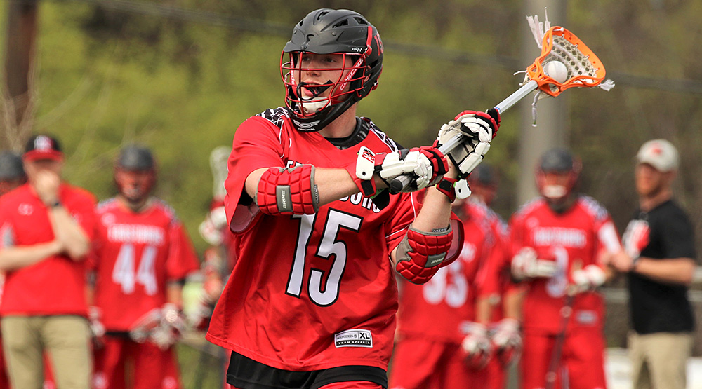 Adam Gross, all-region men's lacrosse player for Frostburg State.