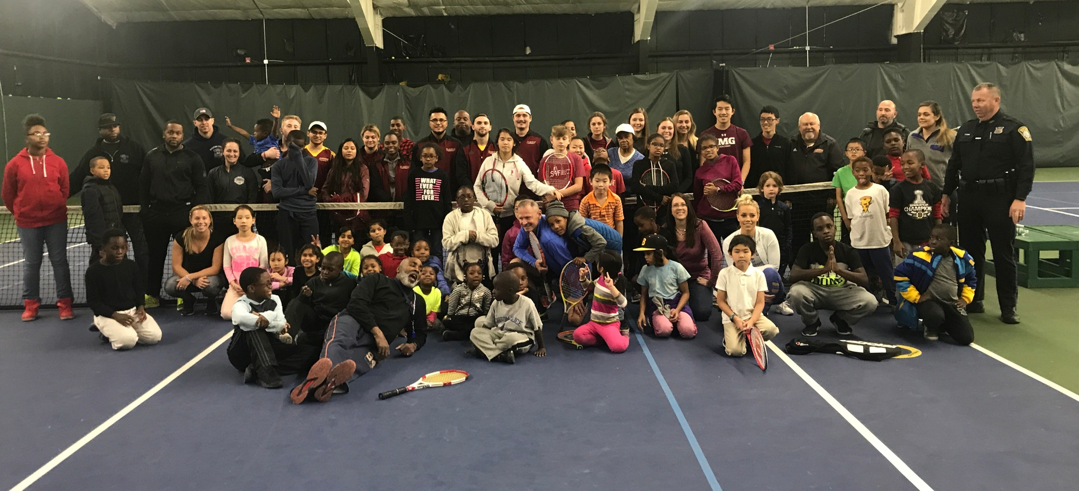 Pride Tennis Takes Part In Volley Against Violence