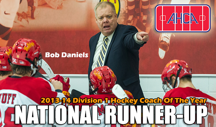 Ferris State's Bob Daniels Tabbed Runner-Up For Division I National Coach Of The Year
