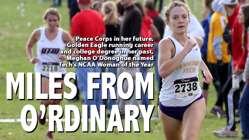 O'Donoghue selected as Tech's 2014 NCAA Woman of the Year winner