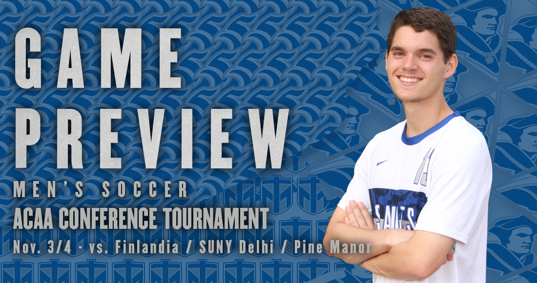 Men's Soccer Competes in ACAA Tournament This Weekend