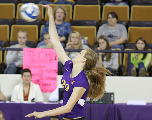 Morehead State flies higher than Golden Eagles, Tech Volleyball falls in four