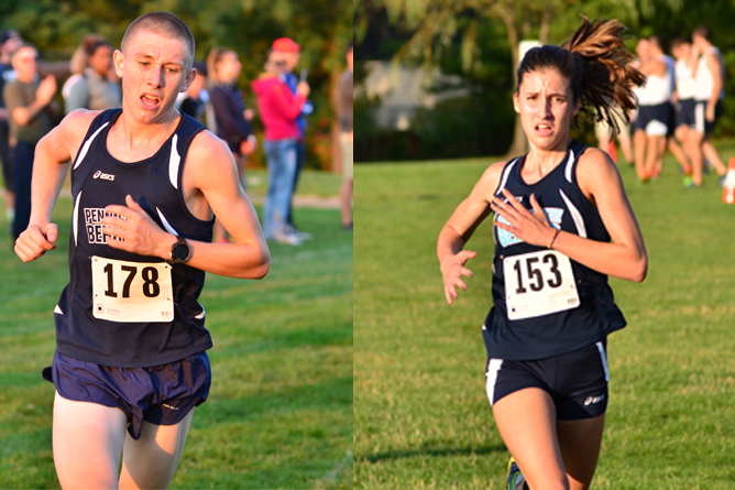 Two Cross Country Runners Earn ECAC Honors