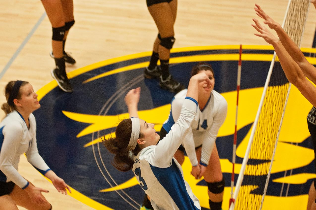 Volleyball Visits Bridgewater State Thursday