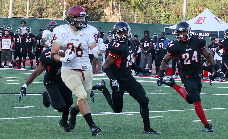 Rocky Start For Football In 41-14 Loss To State No. 2 LBCC