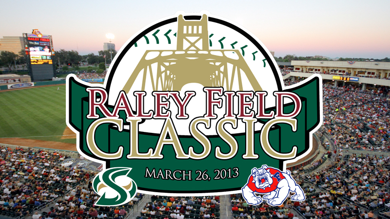BASEBALL MEETS FRESNO STATE AT RALEY FIELD