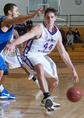 Mens basketball concludes home slate with setback to merrimack colchester vt the saint michaels college mens basketball team completed its home slate on wednesday evening with a 71 57 setback to merrimack college sciox Images