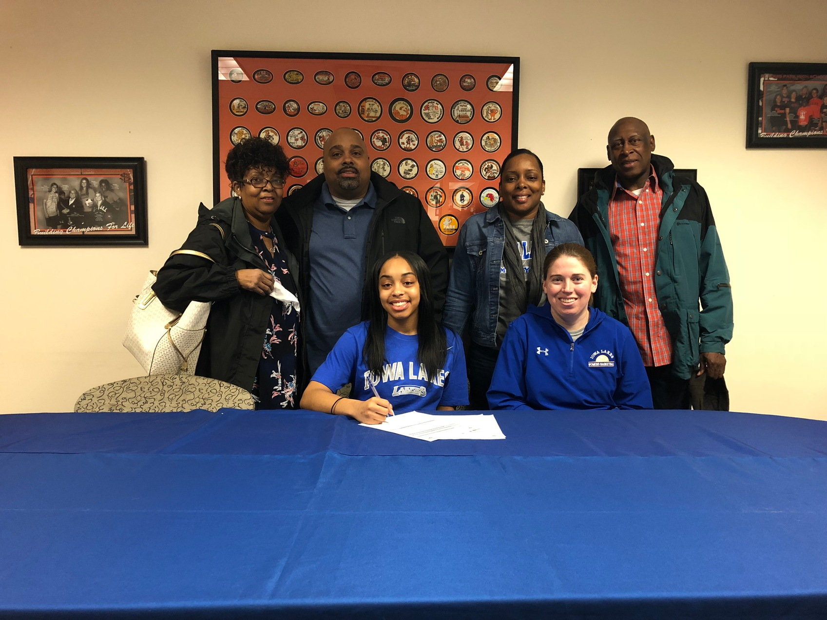 Laker Women's Basketball Inks Tejah Hayden