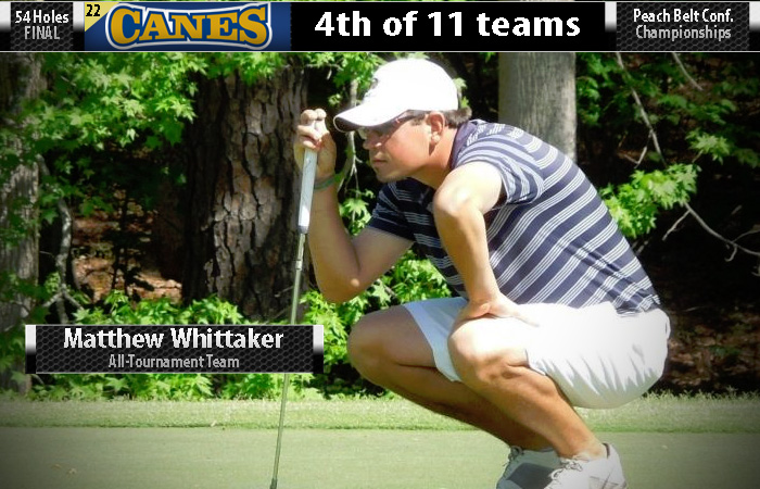 Whittaker All-Tournament; Canes 4th At PBC Championships
