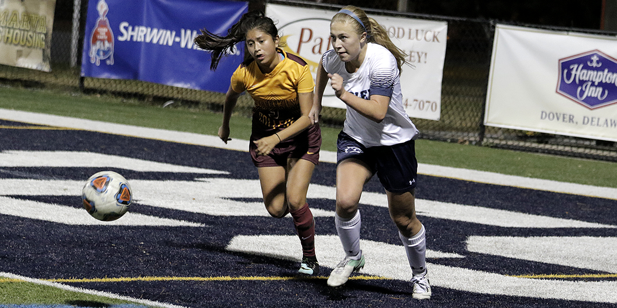 Women's Soccer cruises to 6-1 win over Brooklyn in regular season finale