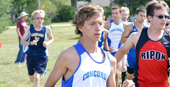 Men's Cross Country places fifth at Private College Championships