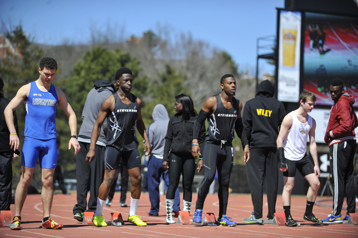 Williams, Relay Team Lead Mustangs to 8th Place at York College Spartan Invitational