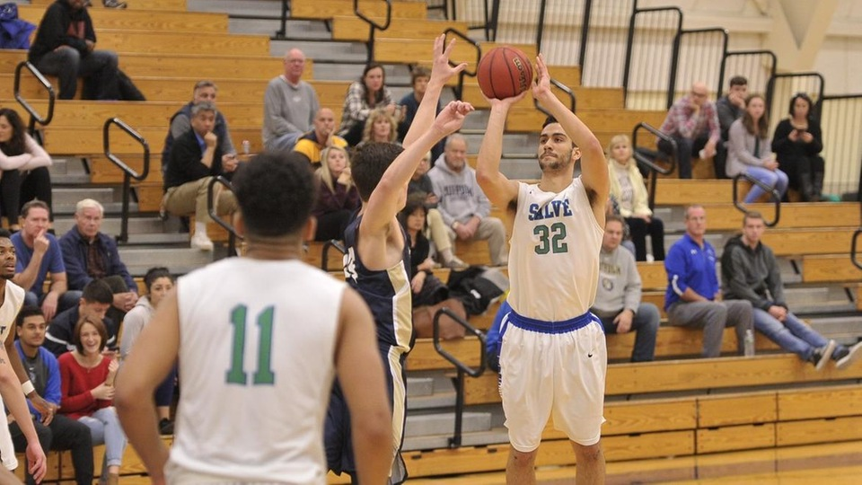 Stephen Natola led the Seahawks in scoring with 14 points off the bench. (Photo by Mark Brochu '87)