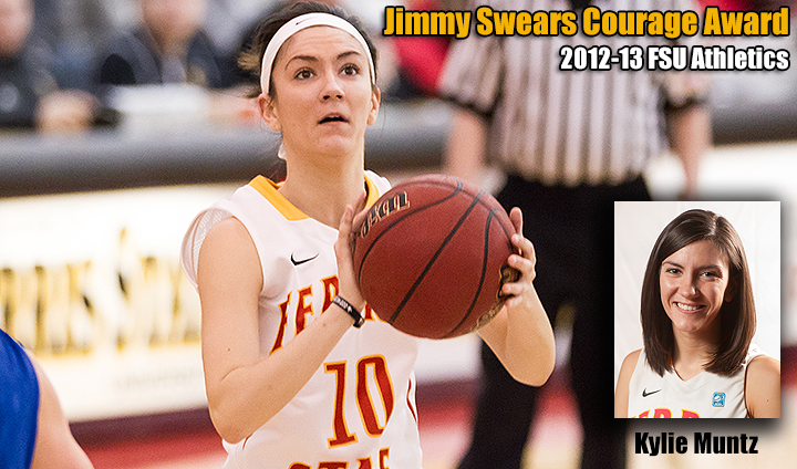 Kylie Muntz Honored As Jimmy Swears Courage Award Recipient For Second Consecutive Year