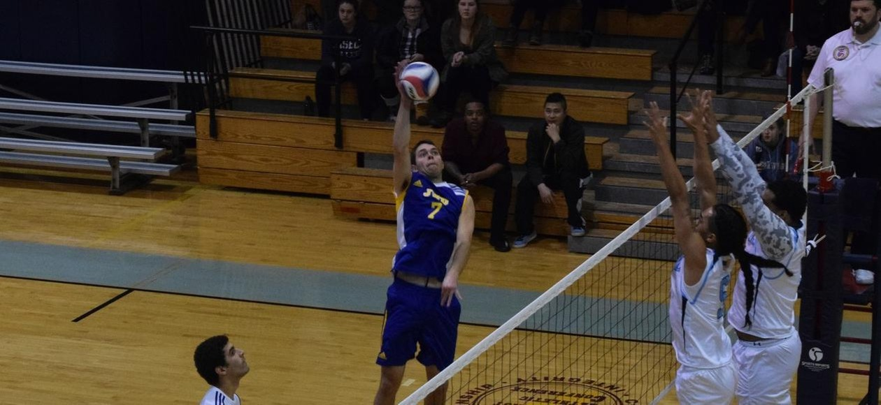 Men's Volleyball Splits With #11 Lasell and Emmanuel
