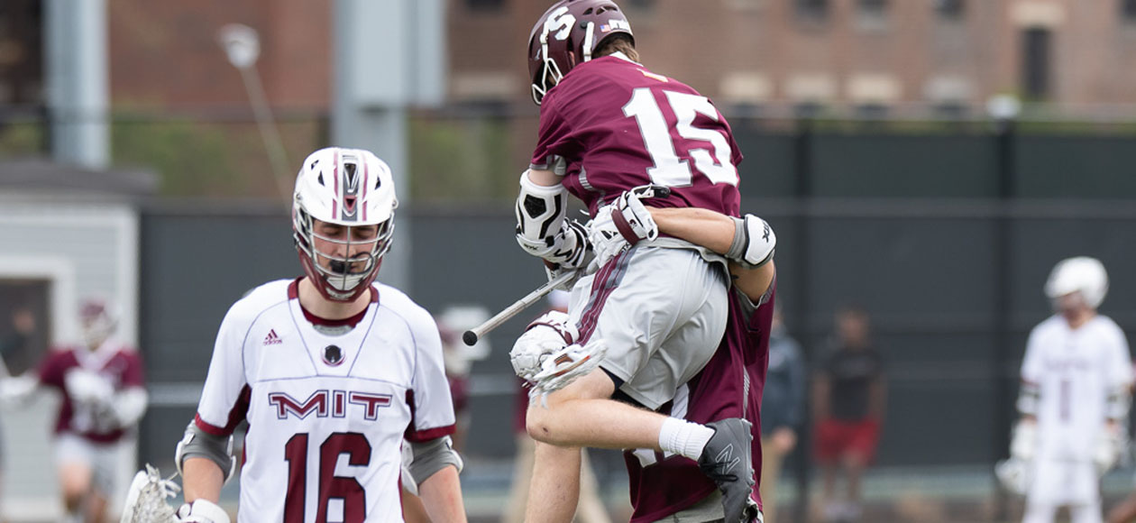 McCarthy's Overtime Winner Leads Men's Lacrosse Past MIT, 14-13, In NEWMAC Championship Semifinals