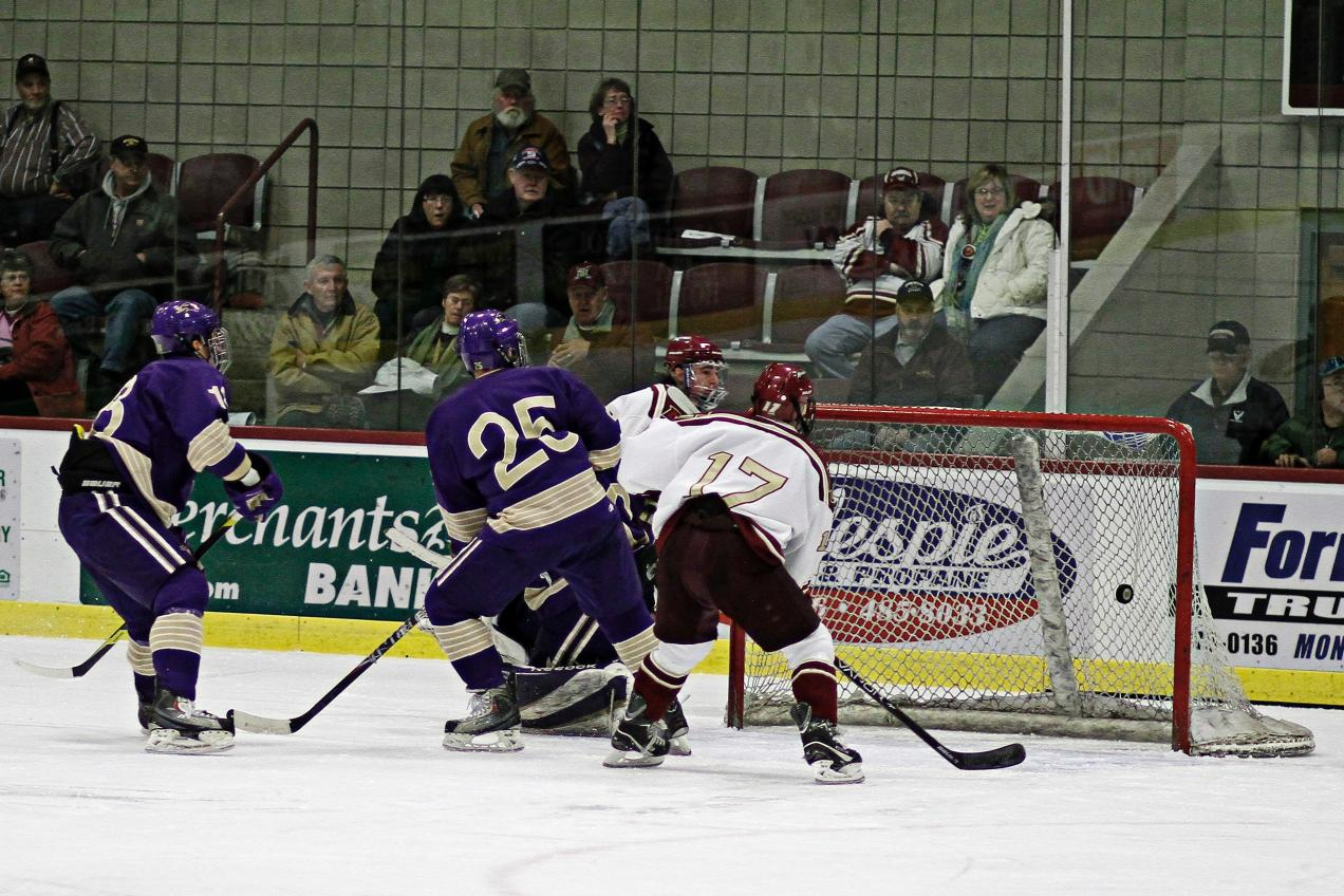 Men's Hockey: Cadets trounce St. Michael's 8-0