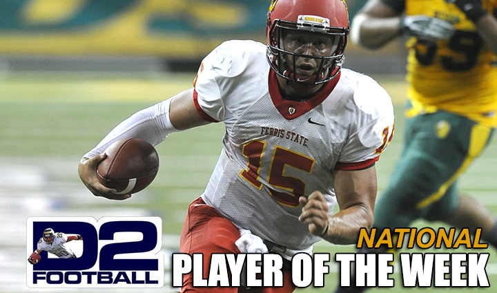 Bulldog QB Jason Vander Laan Picks Up Another National Player Of The Week Award