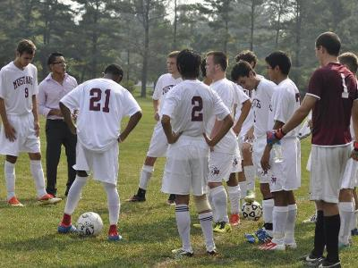 Men's Soccer Drops 1-3 to Blues in Region 19 First Round